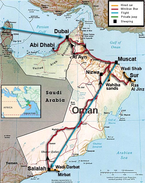 oman uae travel info